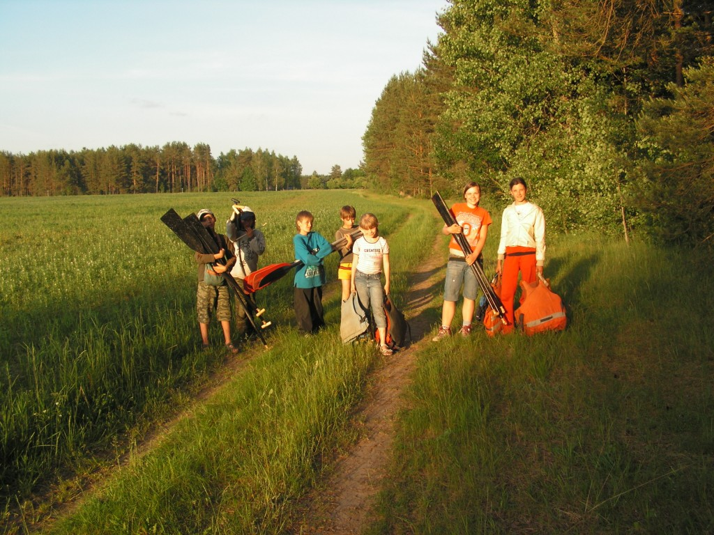 детский поход, Беларусь